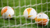 Evropská fotbalová liga, oficiální míče UEFA - ilustrační foto.