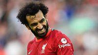 Liverpoolský útočník Mohamed Salah pomůže egyptským fotbalistům v kvalifikaci MS 2022.