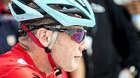 Chris Horner na startu královské etapy Vuelty.