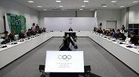 Zasedání mezinárodního olympijského výboru.