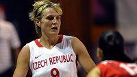 Kapitánka české basketbalové reprezentace Hana Horáková