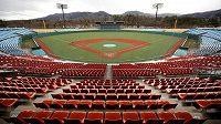 Stadion, kde se budou konat olympijské soutěže v baseballu a softballu.