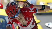 Ruský cyklista Ilnur Zakarin, vítěz sedmnácté etapy Tour de France.