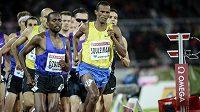 Jakub Holuša (vzadu zcela vpravo) během závodu na 1500 m na Diamantové lize ve Stockholmu. Vpředu je Ayanleh Souleiman z Džibutska, vlevo Ilham Tanui Özbilen z Turecka.
