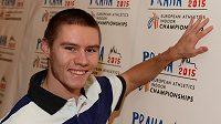 Čtvrtkař Pavel Maslák bude jedním z ambasadorů halového mistrovství Evropy 2015 v Praze.