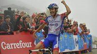Horskou 15. etapu Vuelty s dojezdem na kopec Lagos de Covadonga vyhrál po sólu Francouz Thibaut Pinot.
