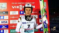 Skokan na lyžích Tomáš Vančura.