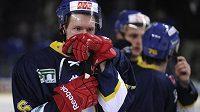 Zklamaní hokejisté Ústí nad Labem po finále 1. ligy