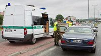 Na hraničním přechodu Bohumín - Chalupki začali od pondělí polští celníci provádět namátkové kontroly řidičů.