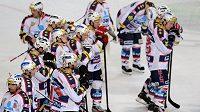 Zklamaní hokejisté Pardubic