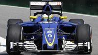 Švédský pilot Marcus Ericsson bude i v příštím roce jezdit za Sauber.