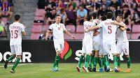 Bulharská radost na Letné. Čeští fotbalisté v kvalifikaci o postup na EURO 2020 rychle prohrávali.