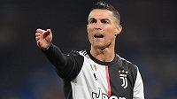 Nejzářivější hvězda Juventusu Turín a celé italské ligy - Cristiano Ronaldo.
