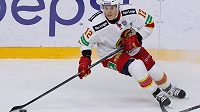 Steve Moses v dresu Jokeritu Helsinky v KHL.