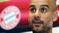 Trenér Bayernu Mnichov Josep Guardiola