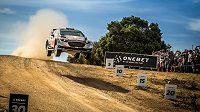 Sebastien Ogier s Fordem Fiesta WRC (ilustrační foto)