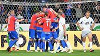 Fotbalisté Viktorie Plzeň se ve šlágru se Spartou ujali chvíli před koncem vedení a měli z toho velkou radost.