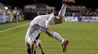 Radost Robbieho Keana po vstřeleném gólu neznala mezí.