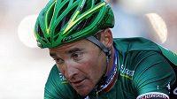 Francouzský cyklista Thomas Voeckler, vítěz 10. etapy Tour de France