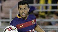 Útočník Pedro je blízko přestupu z Barcelony do Manchesteru United.