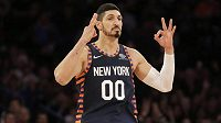 Turecký basketbalista Enes Kanter.