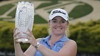 Anglická golfistka Bronte Lawová vybojovala na turnaji ve Williamsburgu první vítězství na LPGA Tour.