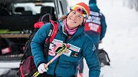 Spokojená česká lyžařka Kateřina Smutná.