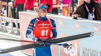 Český biatlonista Ondřej Moravec poslední rány hodně litoval.