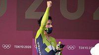 Primož Roglič ovládl časovku na olympijských hrách