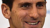 Rozesmátý srbský tenista Novak Djokovič