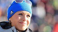 Německá biatlonová legenda Magdalena Neunerová.