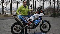 Ondřej Klymčiw se chystá na Rallye Dakar 2016