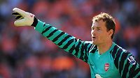 Brankářská legenda Arsenalu Jens Lehmann