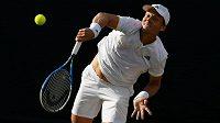 Tomáše Berdycha čeká v semifinále Wimbledonu prubířská zkouška.