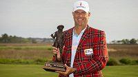 Americký golfista Stewart Cink vyhrál v Hilton Head.