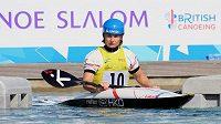 Česká kajakářka Štěpánka Hilgertová skončila v úvodním závodu Světového poháru vodních slalomářů v Londýně šestá a zajistila si tak nominaci na mistrovství světa v Deep Creeku.