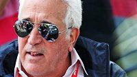 Majitel týmu F1 Aston Martin Lawrence Stroll na archivním snímku.