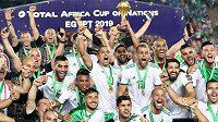 Fotbalisté Alžírska - ilustrační foto.