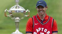 Golfista Rory McIlroy měl důvod k úsměvu, vyhrál turnaj Canadian Open.