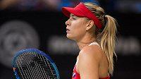 Hvězdná tenistka Maria Šarapovová, jedna z ruských dopingových hříšníků.