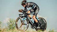 Cyklista Leopold König získal na společném mistrovství Česka a Slovenska v Hodoníně titul v časovce.