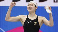 Japonská plavkyně Rikako Ikeeová