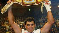 Boxer Corrie Sanders z Jihoafrické republiky poté, co porazil Vladimira Klička - archivní foto.