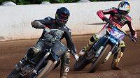 Motocyklové závodníky Olivera Königa a Filipa Salače pojí přátelství.