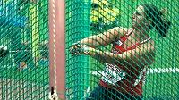 Kladivářka Kateřina Šafránková při kvalifikaci mistrovství Evropy v Curychu.