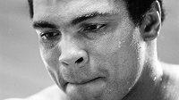 Muhammad Ali během přípravy ve svém horském středisku Owigsburg v Pennsylvánii v srpnu 1974.
