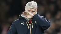 Kouč londýnského Arsenalu Arséne Wenger.