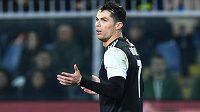 Cristiano Ronaldo je ve 34 letech hvězdou Juventusu.