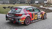 S tímto vozem Seat Leon Cup Racer bude Petr Fulín startovat v letošním seriálu.