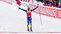 Francouzský biatlonista Martin Fourcade zcela jednoznačně opanoval stíhací závod mužů na MS v Oslu.